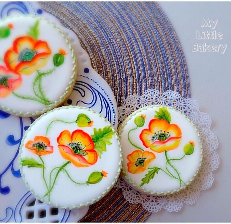 Cake Art By Bec : 213 best images about Hand Painted Cookies, Cupcakes on ...