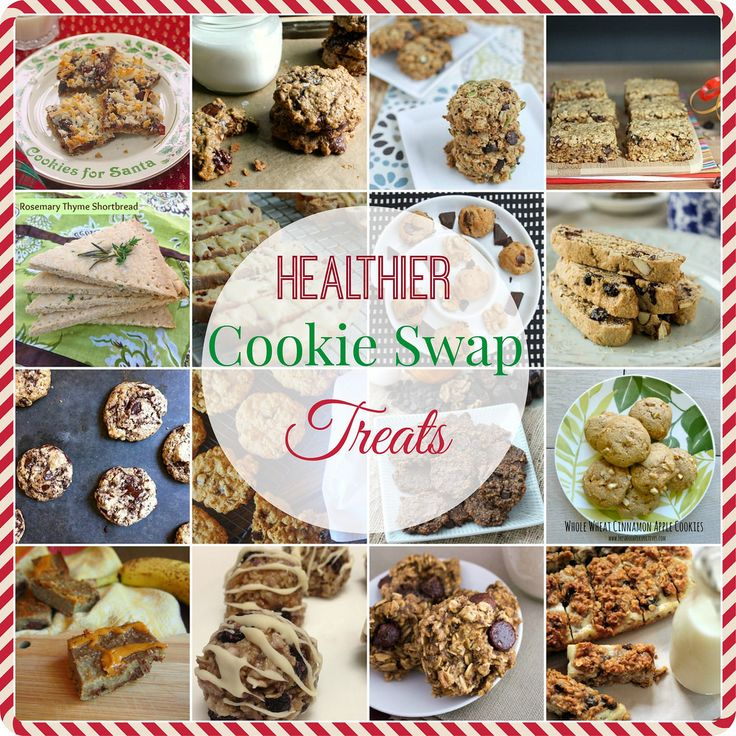 Healthier Cookie Swaps | 7 Layer bars, Peanut Butter Oatmeal Cookies, Walnut Chocolate Chip Cookies and More! | From @MealMakeoverMom