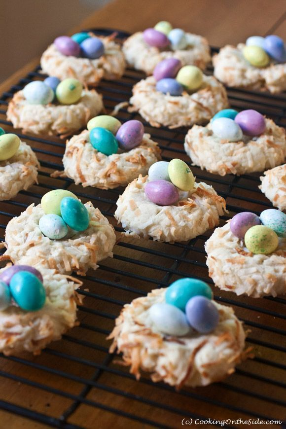 How To Make Cookies For Easter | Mini Bird's Nest Cookies. Quick And Easy Baking Recipe For Beginners #holiday #family #Easter #DIY