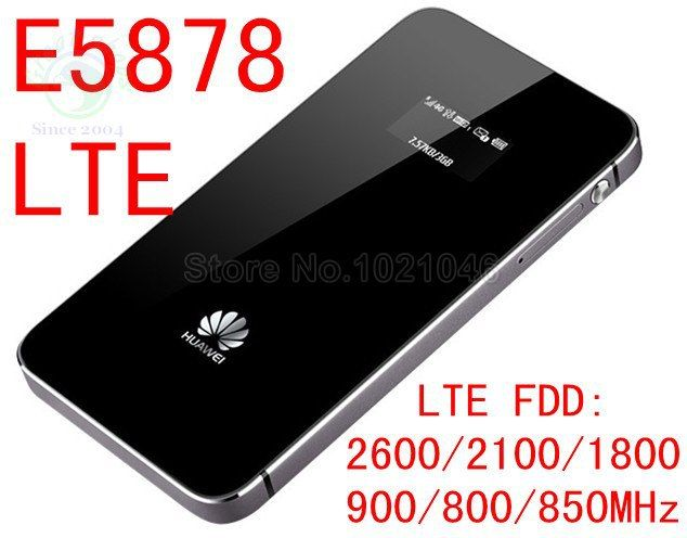 unlocked Huawei E5878 4g lte wifi router 150Mbps E5878s-32 4g LTE FDD all frequency 4g lte MiFi dongle pk E589 e5776 e3276 e5372