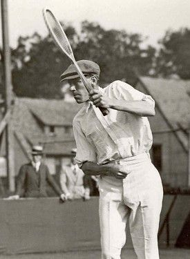 Australian citizen Norman Brookes was the first foreign player to win Wimbledon in 1907.  Sir Norman was knighted in 1939 and served at President of the Lawn Tennis Association of Australia for nearly 30 years and was inducted into the International Tennis Hall of Fame in 1977.  #tennis