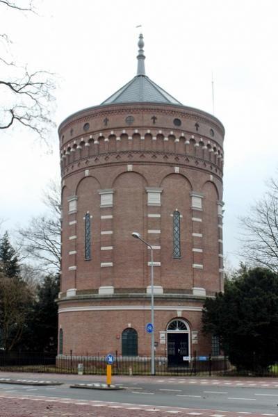 Oneindig Noord-Holland / Watertoren Jacobus Pennweg Hilversum