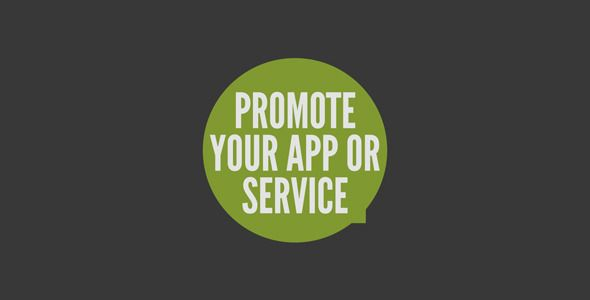Great template to promote your app or service for $25    http://videohive.net/item/promote-your-app-or-service/411966?ref=johnnybd
