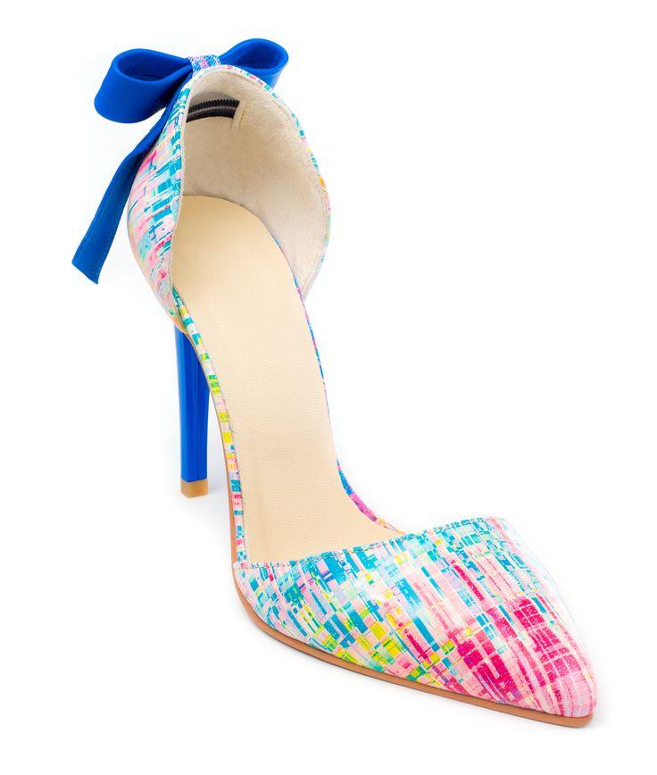 COLECTIA 2016 :: DARE TO WEAR >> Pantofi stiletto Colour Splash -