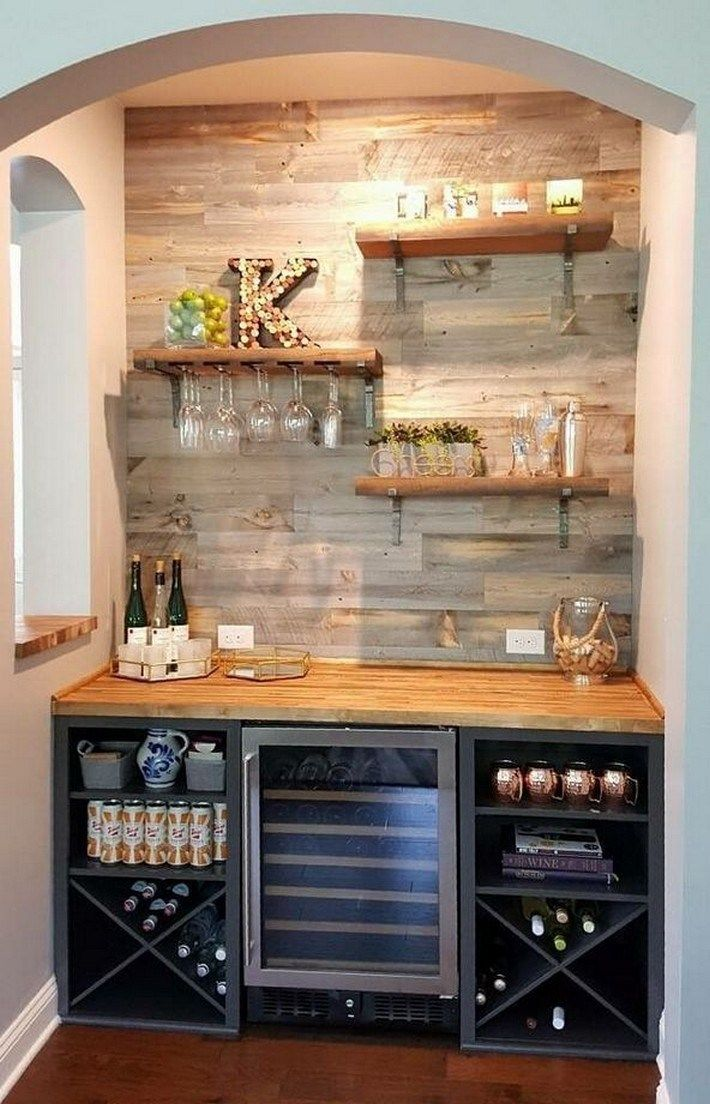 36 cool at home bar ideas for you to copy 19 Bars for
