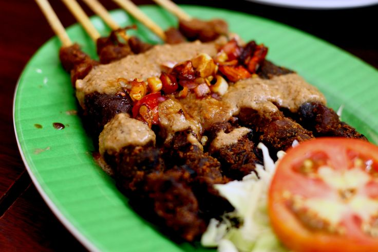 """Jejamur Sate. Jejamur means mushroom and sate equal to """"satay"""" in Malaysia, means meat on stick and grilled it."""