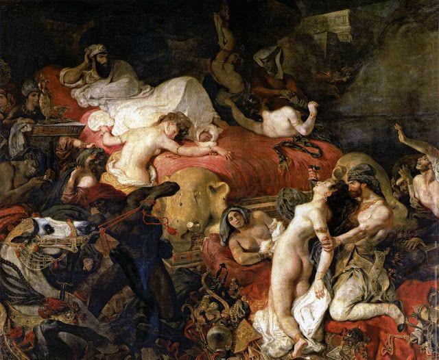 Θάνατος τoυ Σαρδανάπαλου (1827)