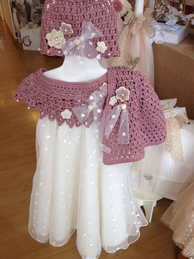 Pupetta baptism, christening dress