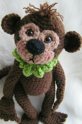 #Crochet this cute little guy for your kids; they'll love him! #AllFreeCrochet