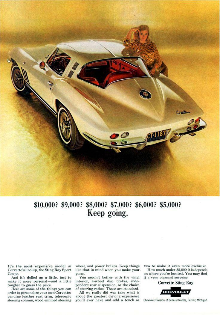 1965 Gold Chevrolet Corvette