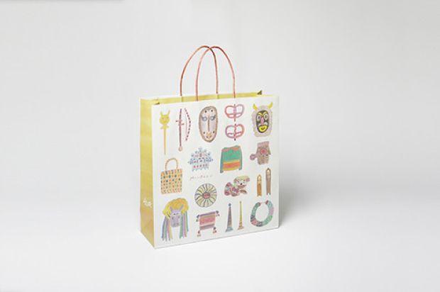 colocal | 大阪が誇る「みんぱく」こと国立民族学博物館が、紙袋をポップにリニューアル!