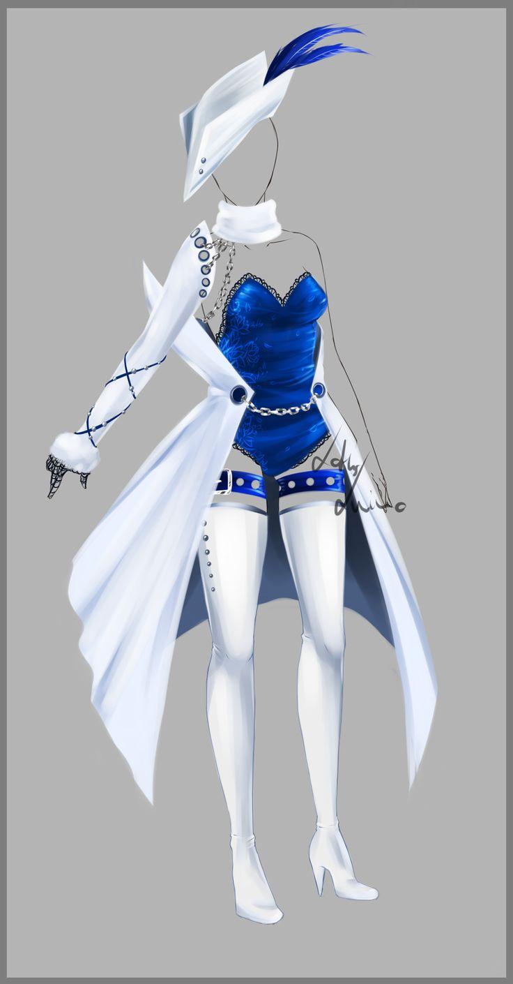 Outfit design - 79 - closed by LotusLumino.deviantart.com on @deviantART