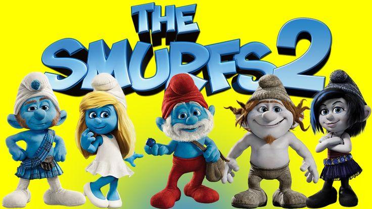 Collection The Smurfs  Gargamel Azrael Smurfette Papa Smurf Die Schlümpfe 2