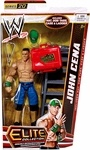 Name: John Cena Manufacturer: Mattel Toys Series: Elite Collection Series 20 Release Date: February 2013 For ages: 4 and up Details (Description): Capturing all the action and dramatic exhibition of sports entertainment, the Mattel WWE Elite Collection features authentically sculpted 6 inch figures of the biggest WWE Superstars. Figures feature deluxe articulation, amazing detail and accessories such as masks, armbands and costumes.