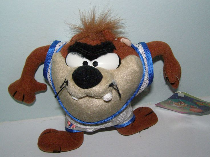 This is Taz for Looney Tunes plush toy dresses as a baseball player. Brand: Warner Bros. Please visit Ariana's Fantasy Corner, our store have variety of brand new items, collectibles, vintage and much more.