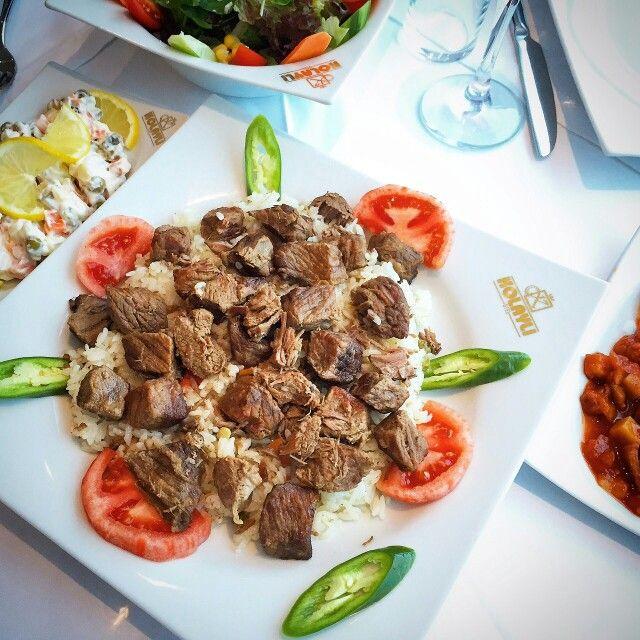 Pilav Üstü Dana Kavurma - Kolaylı Restaurant / Afyon Telefon : 0 272 252 55 55 Fiyat : 25 TL
