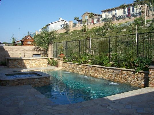 17 Best Images About Pools And Pool Features On Pinterest