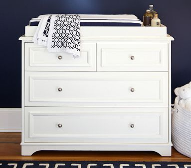 Fillmore Dresser U0026 Changing Table Topper, Simply White. Changing Table  TopperDresser Changing TablesBaby Changing TablesPottery Barn ...