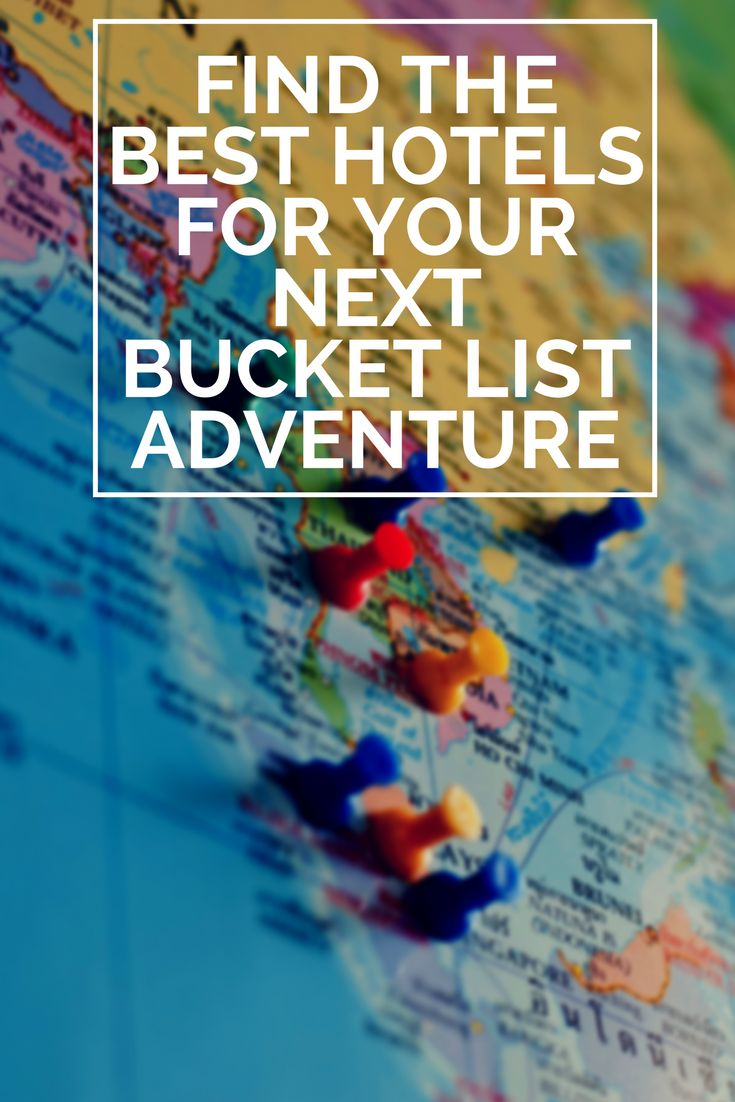 Find the best deals on hotels for your next bucket list adventure at BookingBuddy!