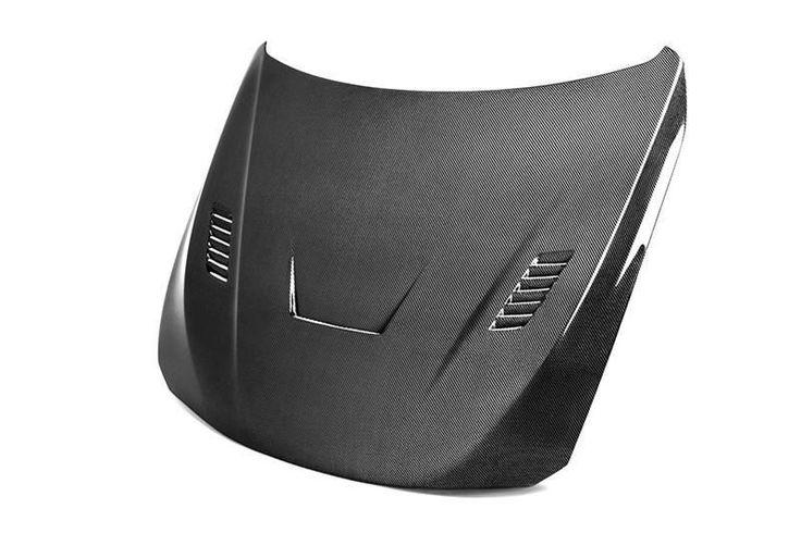 Seibon 2014-2015 BMW 435i 428i/ 2012-2013 BMW 335is/ 2012-2014 BMW 335i 328i/ 2014 BMW 328d/ 2013-2014 BMW 320i VR-Style Carbon Fiber Hood