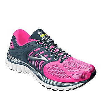 "Brooks ""Glycerin 11"" Running Shoes in Brite Pink"