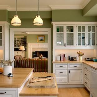 Кухня оливкового цвета – более 30 фото дизайна
