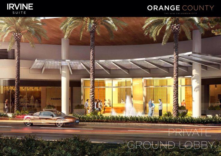 IRVINE SUITE at Orange County - Private Grand Lobby  www.lippoproperty.com