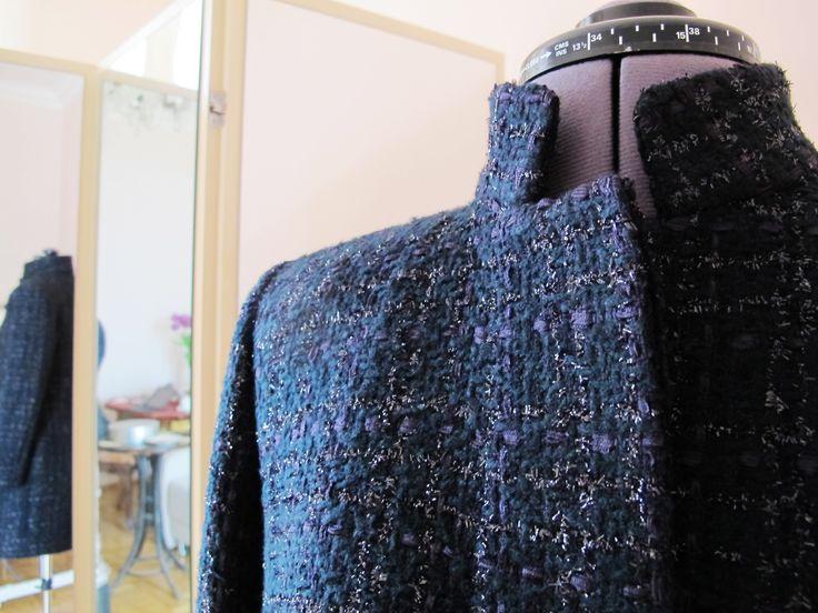Tailoring jacket from Chanel fabricNATA BRETTELL. INTELLIGENT FASHION STUDIO. http://www.natabrettell.com/