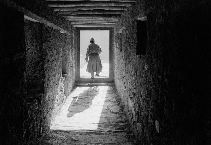 John Vink  INDIA. Ladakh. Lama Yuru. 11/09/1996: Tashi Tundup.