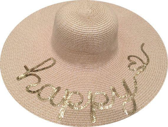 Custom Name Ladies Hat   Personalized Sun Hat   Custom Name Hat