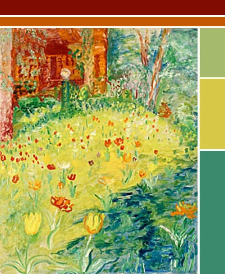 Color Scheme to: Sigrid Hjerten.