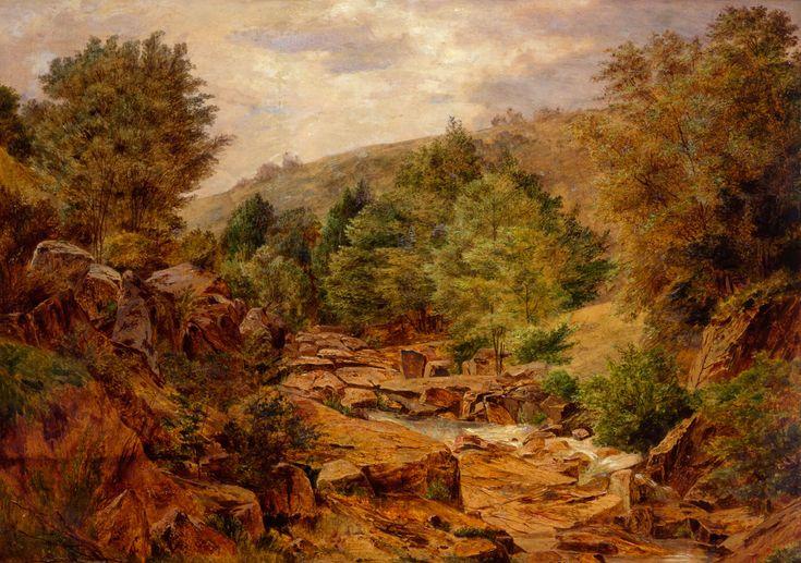 BEDŘICH HAVRÁNEK (1821 - 1899) Creek