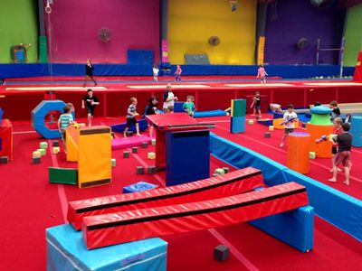 Springloaded   Choose from a trampoline party or gymnastics birthday party or combine them both.