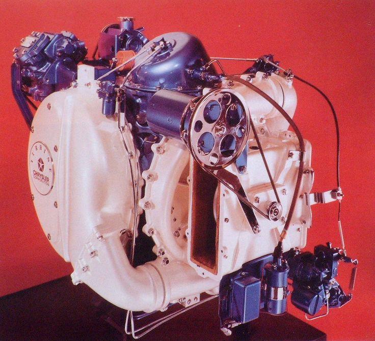 The Chrysler Turbine Car's turbine engine