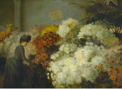 Abbott Fuller Graves, The Chrysanthemum Show, 19th century