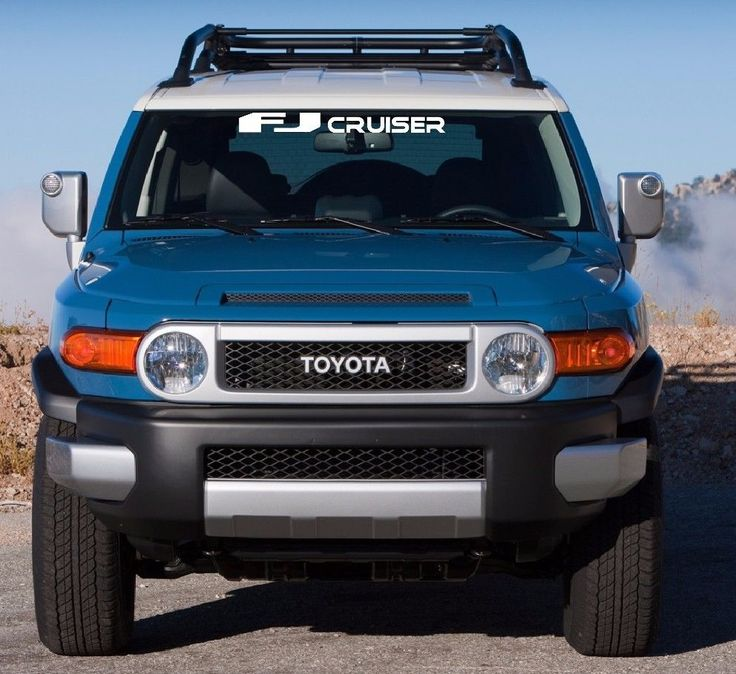Toyota Truck Aftermarket Parts: TOYOTA FJ CRUISER WINDSHIELD DECAL