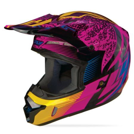 Kinetic Inversion Wild Helmet | FLY Racing | Professional grade Motocross, BMX, MTB, Offroad, ATV, Snowmobile, and Watercraft apparel and hard parts