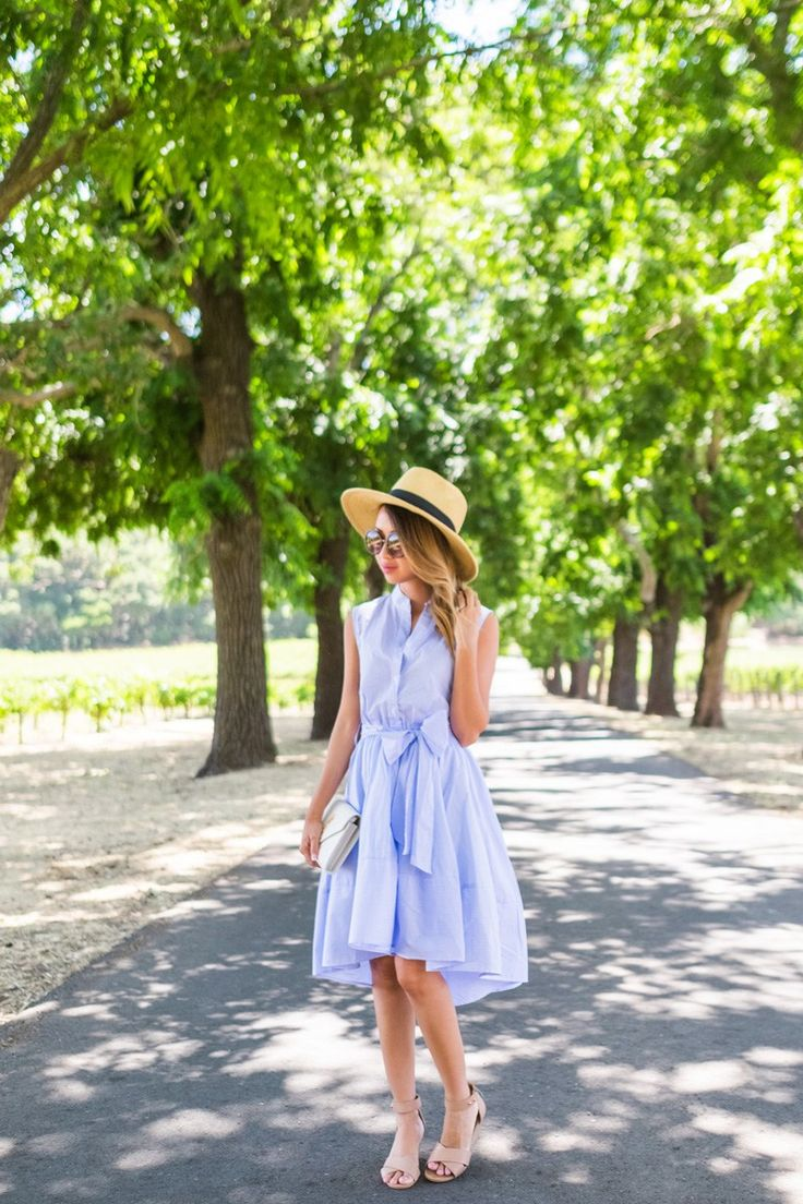 petite fashion blog, lace and locks, los angeles fashion blogger, napa travel diary, napa wine tasting fashion, traveling fashion blogger, fit and flare stripe dress, summer outfit ideas