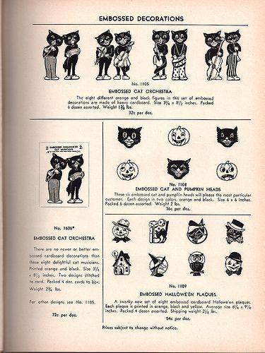 1948 the beistle company catalog by dragonflydesignstudio vintage halloweenhalloween decorationspopupanniversary