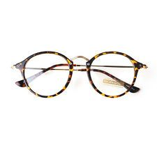 1920s Nerd Brille filigran rund Glasses Klarglas Hornbrille treber 25R10 Leopard in Clothing, Shoes & Accessories, Women's Accessories, Sunglasses & Fashion Eyewear, Fashion Eyewear/Clear Glasses | eBay