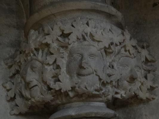 Green Man in York Minster (via An Alphabet of England)