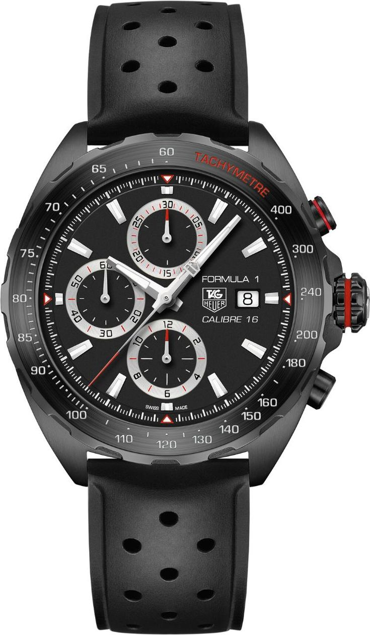 TimeZone : TAG Heuer / Heuer » N E W M o d e l - TAG Heuer Formula 1 Caliber 16 Automatic Chronograph