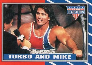 american gladiators cards | The Trading Card Database - 1991 Topps American Gladiators Misc Sports ...