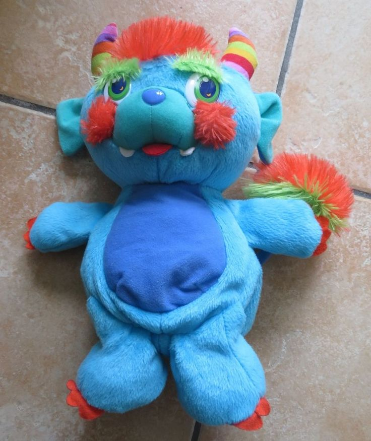 Peluche Popples Monster Pop