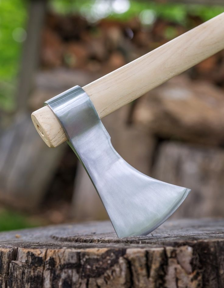 Polished Competition Throwing Tomahawk