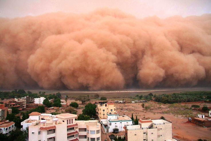 10 impressionantes tempestades de areia