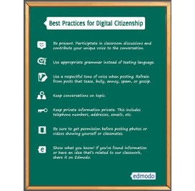 Free Download: Digital Citizenship Poster