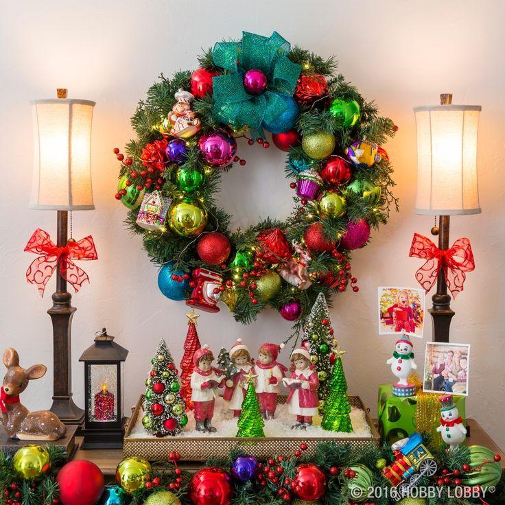 486 best Christmas Decor images on Pinterest Hobby lobby