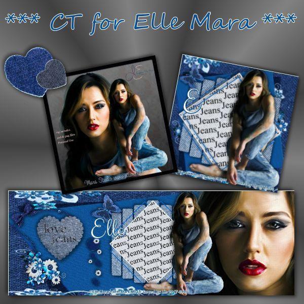 Blue Jean - Tube at www.ellemara.com