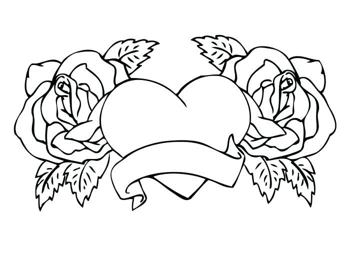 Roses And Hearts Coloring Pages Best Coloring Pages For Kids Unicorn Coloring Pages Heart Coloring Pages Rose Coloring Pages